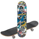 WB スケートボード(バットマン・コミックアート) (AP231231/UY-5036)【 スケボー スケート ボート ボード 】【QBH33】