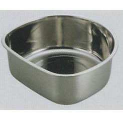 アクアシャイン ステンレス製D型洗桶25cm(ゴム足付) (AP42918/H-6287) ( キャプテンスタッグ )【QBI07】