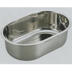 アクアシャイン ステンレス製スリム小判型洗桶34×23cm (AP42920/H-6290) ( キャプテンスタッグ )【QBI25】