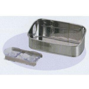 アクアスプラッシュ 抗菌ステンレス製洗剤・スポンジ入れ18cm (AP42931/H-9171) ( キャプテンスタッグ )【QBI07】