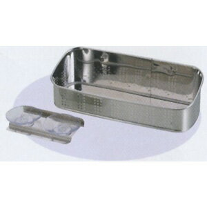 アクアスプラッシュ 抗菌ステンレス製洗剤・スポンジ入れ23cm (AP42932/H-9170) ( キャプテンスタッグ )【QBI25】