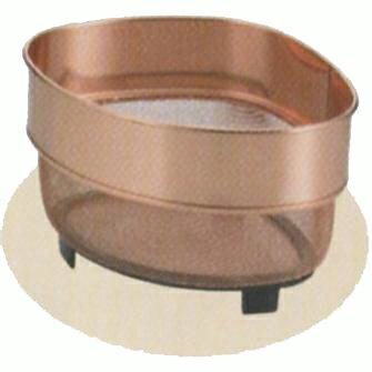 アクアスプラッシュ 純銅三角コーナーザル(ミニ) (AP42941/H-9187) ( キャプテンスタッグ )