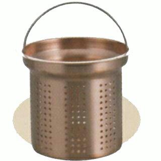 アクアスプラッシュ 純銅排水口水切りカゴ13.5cm (AP42944/H-9168) ( キャプテンスタッグ )