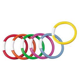 ダイブリング(6色組)(赤、オレンジ、黄、青、緑、ピンク) (JS84619/EHA108)【分類:水泳】