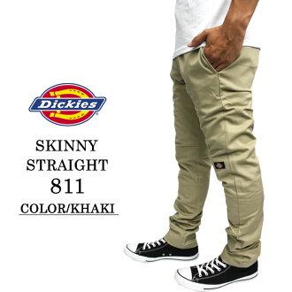 Dickies Dickies 工作服美国瘦直瘦步行短裤卡其色男装时尚休闲街在特隆赫姆,滑冰