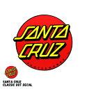 SANTACRUZ / サンタクルーズ ステッカー クラシックドット Classic Logo デカール オシャレ スケート sk8 skate surf …