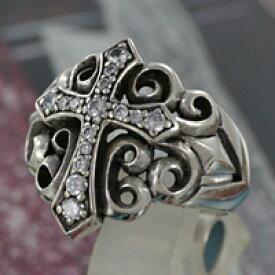 クロス 十字架 シルバーリング 指輪 silver925 ジルコニア シルバーアクセサリー 男女兼用 メンズアクセサリー レディースアクセサリー 男性用 女性用 ペアリングに大人気 大きいサイズ 送料無料