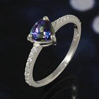 ミスティッククォーツ シルバーアクセサリー レディース シルバーリング 指輪 シルバー925 プレゼントに人気 送料無料