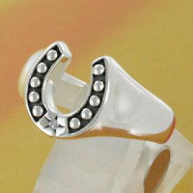 ホースシューリング 馬蹄 シルバーアクセサリー シルバーリング 指輪 ピンキーリング シルバー925 ミニサイズ 子供用 キッズ用 メンズアクセサリー レディースアクセサリー ペアリングに人気 送料無料