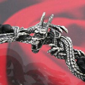 【全品10%OFF】シルバー アクセサリー ブレスレット バングル シルバー925 プレゼント メンズ 腕輪 ドラゴン 龍 ドラグーン バハムート