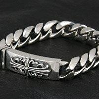 シルバーブレスレット silver925 クロス 十字架 キヘイ 喜平 ロングセラー メンズ レディース アクセサリー シルバー アクセサリー ブレスレット バングル シンプル プレゼントに大人気 送料無料
