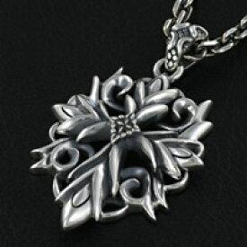 シルバー アクセサリー シルバーペンダント シルバー925 メンズ プレゼント ネックレス 十字架 芸術的 透かし彫り プレゼント