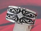 シルバーリング 指輪 silver925 クロス ジルコニア シルバーアクセサリー メンズ レディース ユニセックス アクセサリー シルバー リング メンズアクセ 大きいサイズ ペアリングに大人気 送料無料