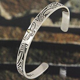 イーグル ネイティブ シルバーバングル メンズアクセサリー ユニセックス シルバーアクセサリー シルバー925 バングル ブレスレット プレゼントに大人気