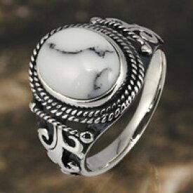 ホワイトターコイズ ネイティブ シルバーリング 指輪 silver925 メンズ レディース 男性用 女性用 男女兼用 シルバーアクセサリー ペアリング・プレゼントに人気 送料無料