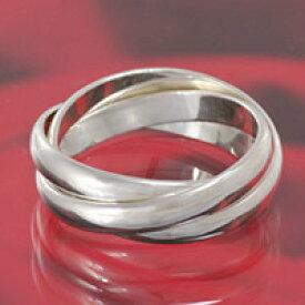 トリニティリング 三連リング シンプル シルバーリング シルバー925 リング 指輪 silver925 ユニセックス メンズアクセサリー レディースアクセサリー 男性用 女性用 男女兼用 ペアリングに大人気 ジュエリー シルバーアクセサリー 送料無料