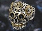 メキシカンスカル スカルリング ドクロ 髑髏 メキシコ メンズ シルバーリング 指輪 シルバー925 メンズアクセサリー 送料無料