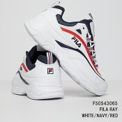 F50543065FILARAYフィラレイWHITE/NAVY/RED