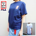 FILA(フィラ) MENS WOMENS FILA×have a good time S/STEE #02 [WHITE][NAVY]LIMITED