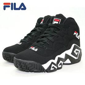 FILA(フィラ)MB FHE102 001 [BLACK][バスケ][バッシュ][カジュアル][ストリート][復刻] バスケット