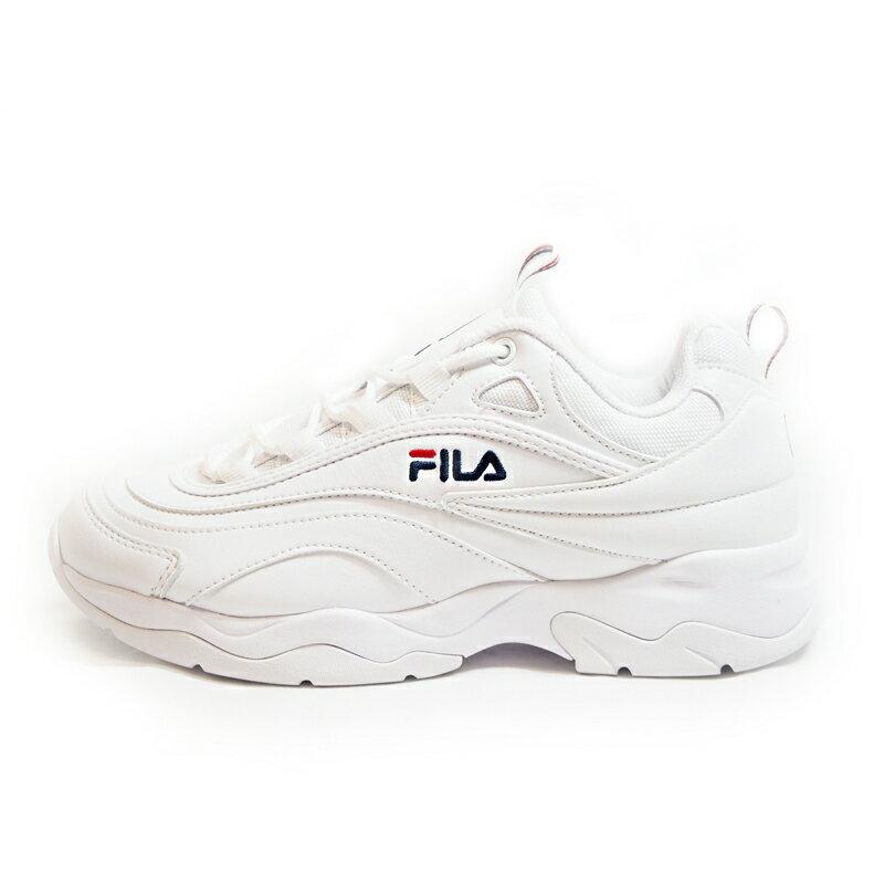FILA RAY フィラレイ F50541160 WHITE2018AW ユニセックス ウィメンズ メンズ ホワイト白 復刻 FILA(フィラ)
