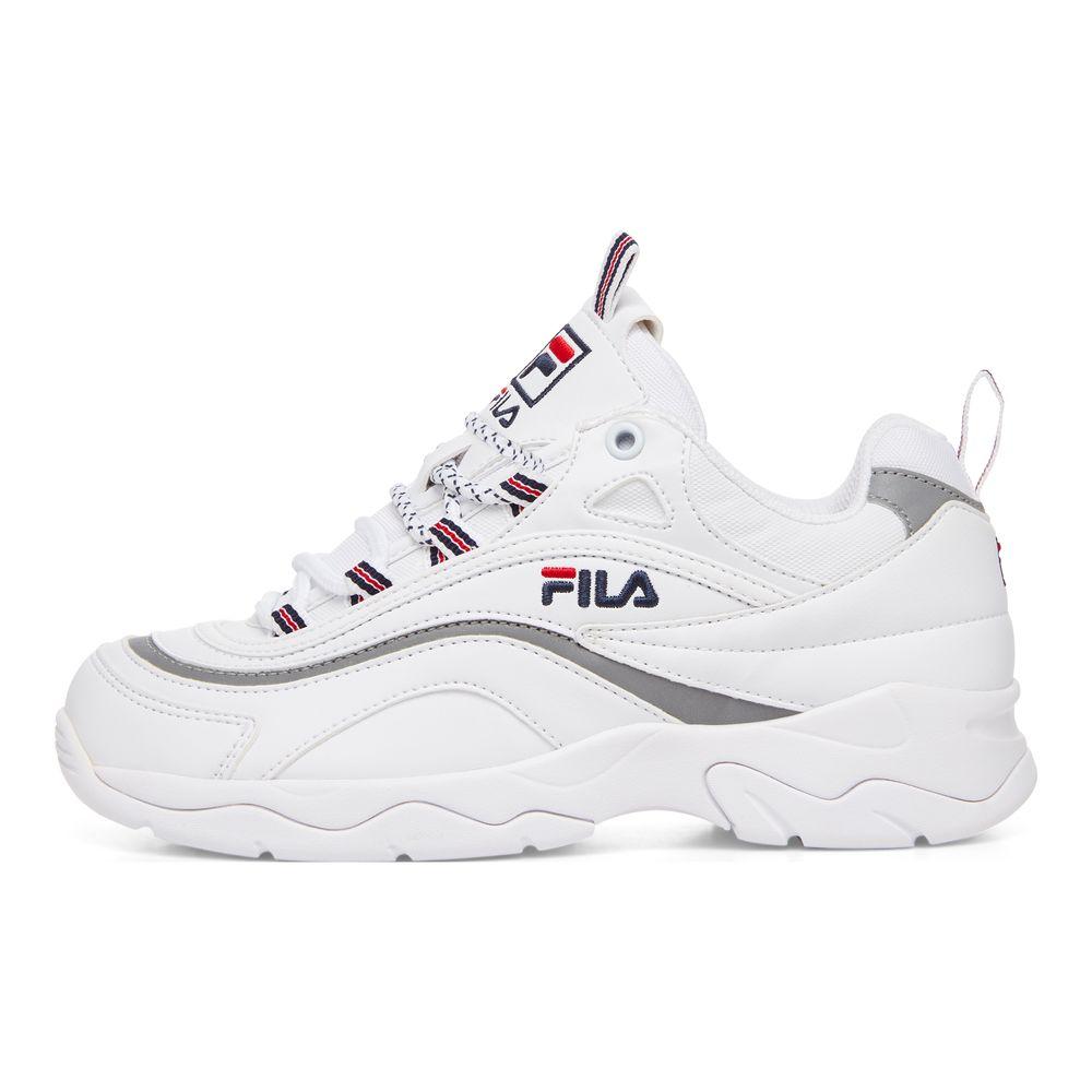 FILA RAY フィラレイ F50541165 WHITE2018AW ユニセックス ウィメンズ メンズ ホワイト白 復刻 FILA(フィラ)