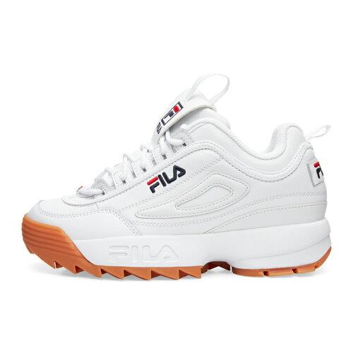 FILA(フィラ)ディスラプター2DISRUPTOR2F02150522WHITE/BROWNホワイト/ブラウンWOMENSHERITAGE厚底スニーカー