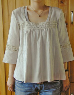 ★Gathers blouse paper pattern with discontinuance of making sale ★ race