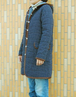 2way quilting coat paper pattern
