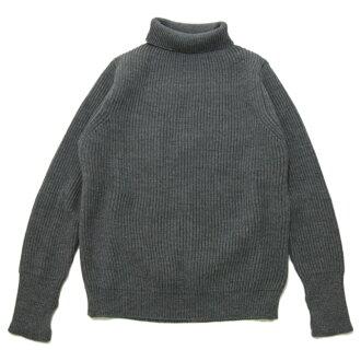 安达信-安德森 (andersenandersen)-海军灰色高领毛衣