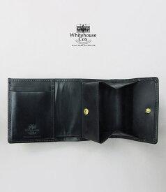 【ポイント11倍】ホワイトハウスコックス コンパクトウォレット ブラック WhitehouseCox S1975 COMPACT WALLET BLACK