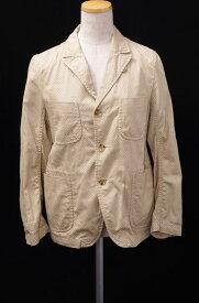 【5月25日に値下げ】FWK Engineered Garmentsエンジニアードガーメンツ Bedford Jacketドット柄ベッドフォードジャケット【LJKA42006】【ベージュ×白】【1】【中古】【2点以上同時購入で送料無料】【DM170531】