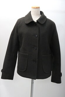 MHL. MARGARET HOWELL Margaret Howell melton wool short coat