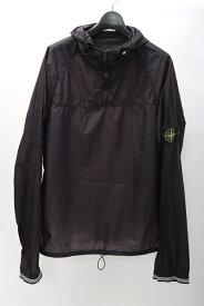 ストーンアイランドSTONE ISLAND プルオーバーナイロンパーカージャケット【MJKA58053】【ブラック】【XL】【中古】【2点以上同時購入で送料無料】【DM191109】