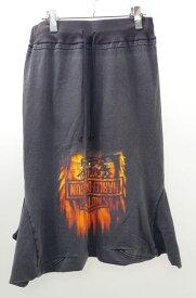 【10月19日に値下げ】H アッシュ ヴィンテージハーレーTシャツ リメイクサルエルパンツ【LPTA36261】【ブラック】【】【中古】【2点以上同時購入で送料無料】【DM160820】