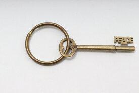 【8月29日に値下げ】ジャクソンマティスJACKSON MATISSE 鍵キーリング新品【MZCA52879】【真鍮】【表記なし】【未使用】【2点以上同時購入で送料無料】【DM200415】