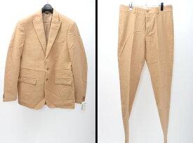 【2月23日に値下げ】ヘルムートラングHELMUT LANG モールスキン2Bスーツ未使用【MSTA46595】【キャメルベージュ】【50】【未使用】【2点以上同時購入で送料無料】【DM180131】