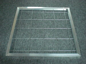 塗装ブース 乾燥炉 循環フィルター アルミ枠 500x500x50t