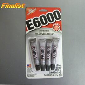 E6000 ラインストーン接着剤 0.18oz(5.3ml)X4チューブTotal0.72oz(21.2ml)クリックポストで発送 社交ダンス
