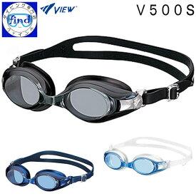 視力の変化に対応可能な組立式 V500S スイミングゴーグル 【別売】度付レンズを取り付け可能 視力に合わせてカスタマイズ VIEW ビュー メーカー在庫確認します