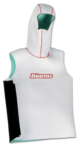 ウェットスーツ 防寒 BIARMSバイアームス フードベスト  マイクロフェザー スーパードレインMAX 伸縮性、発熱素材で選ぶ ダイビング シュノーケリング サーフィン ボディボード メンズ レディース