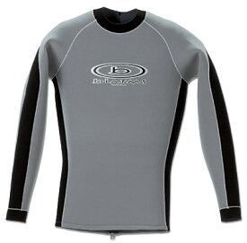 BIARMSタッパ 2mm 3mm 長袖 半袖 伸縮性、発熱素材マイクロフェザー スパードレインマックス  ウエットスーツ ダイビング シュノーケリング サーフィン ボディボード メンズ レディース