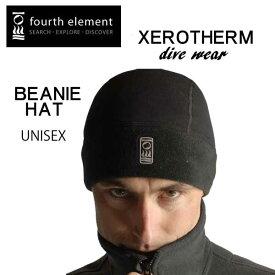fouth element フォースエレメント Xerotherm ゼロサーム ビーニー帽 ユニセックス BEANIE HAT 男性 女性 防寒 ダイビング 冬 ネコポス メール便なら【送料無料】 メーカー在庫確認します