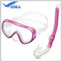 GULL(ガル) 軽器材2点セット ココマスク レイラステイブル スノーケル GM-1231 GM-1232 UVレンズ 紫外線対策 【送料無料】レデ…