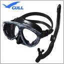 GULL(ガル) ブラックシリコン シリーズ 軽器材2点セット マンティス5 マスク Mantis 5 カナールドライSP スノーケル GM-1036 GM-1...