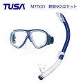 TUSAダイビング・スノーケリング軽器材2点セット/M7500・M7500QB&スノーケル