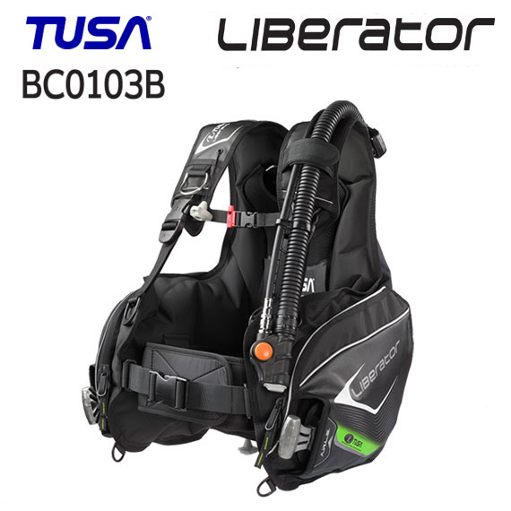 TUSA(ツサ) BC-0103B BCD Liberator リブレーター (BC0103B) 快適な使用感 ウエイトローディングシステム搭載 ダイビング 重器材 【送料無料】 スキューバダイビング スクーバ
