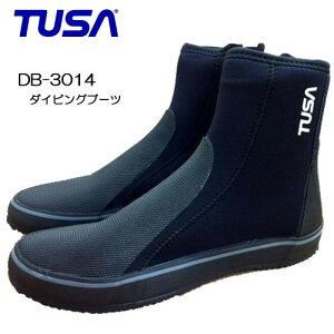 サイズ限定セールTUSA ツサ 【あす楽対応】DB-3014 ダイビングブーツ 22cm 29cm 安くてサイズが豊富 ファスナー付き(DB3014) スキューバダイビング スキンダイビングタバタ ブラック