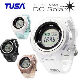 ポイント20倍 TUSA(ツサ)ダイブコンピューター IQ1203 DC Solar  ディーシー ソーラー充電式ウォッチガードプレゼント ダイコン フリーダイビングモードとゲージモードが追加 IQ-1203