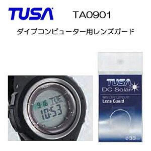 TUSA(ツサ) TA0901 ダイブコンピューター用レンズガード レンズ面を保護する シールタイプ レンズガードIQ1202 IQ1203 IQ1204用 ウォッチガード レンズプロテクター